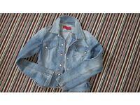 FCUK denim jacket. Size 8-10.