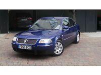 2004 VW PASSAT 1.9 TDI SPORT 130BHP MANUAL 6 SPEED INKY BLUE IMMACULATE