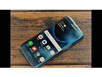 Samsung galaxy s7 edge coral blue as new,for sale/swap