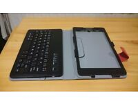 Tablet Case with Bluetooth Keyboard for Sony Xperia Z3