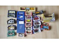 25 collectible limited edition boxed die-cast toy cars - £75