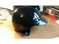 FM Open Face Helmet Large Hardly Used