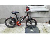 "Appollo Urchin Kids Bike 16"" - Red & Black"