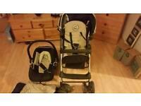 Hauck stroller & baby chair
