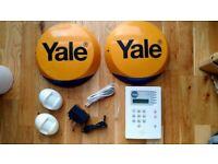 YALE wireless, Premium home alarm kit HSA6400 (new batteries) v. good condition for sale  Croydon, London