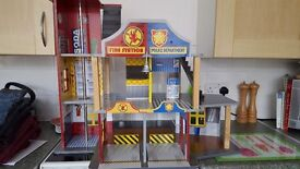 Kidkraft fire and police station