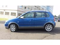 Volkswagen polo dune 1.2 petrol,full service history,only 1 owner,55000 miles