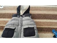 2-3 years boys fur -lined gilet