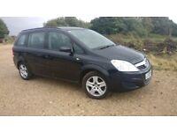 ***2009 Vauxhall Zafira 1.6 Exclusive 7 seater***new MOT***