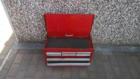 Red tool chest for sale spares or repairs