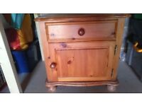 2 different Bedside cabinets/ small cupboards