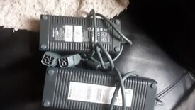 xbox 360 chargers x2 fully working sold as 2 or will separate