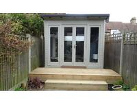 Carpenter, Summerhouse , Sheds ,Outdoor living and children's wooden playhouses , Decking, Fencing