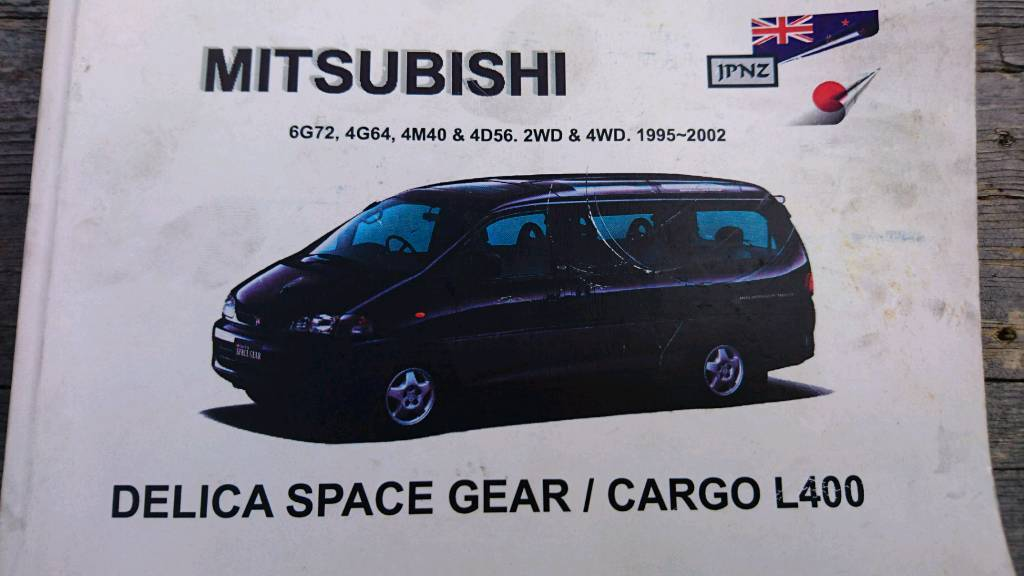 Owners manual for mitsubishi delica