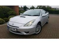 Toyota Celica New shape Absolutely Immaculate year Mot Flying machine£1750 Astra golf audi px w