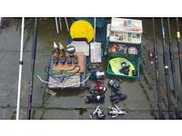 fishing tackle job lot
