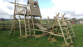 HUGE Wooden Climbing Frame!!