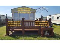 caravan for rent 8 berth golden anchor chapel st leonards