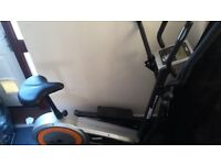 Unused cross-trainer which also can be used as a bike. grab yourself a bargain!