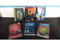 Adventure books assorted