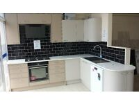 Ex Display Crown Kitchen, Including gas hob, oven, hood, sink & tap BARGAIN PRICE £1200