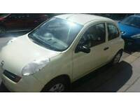 NISSAN MICRA ONLY 1 OWNER FROM NEW 29000 MILES ONLY 1 YEARS MOT DRIVES LIKE NEW
