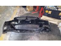BMW 3 SERIES E92 E93 face lift lci front bumper with middle grill grille