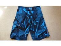 Billabong surf shorts.