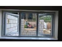 deceuninck PVC double glazed window