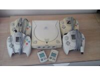 Sega Dreamcast plus 9 games