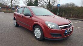 Vauxhall Astra 1.8 i 16v Life 5dr. Petrol/Automatic (LOW MILEAGE 63000)
