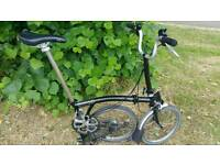 Brompton M3L Folding Bike