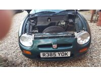 Breaking Mk1 MGF with all parts available