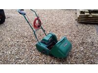 Qualcast Electric 30 rear cylinder lawnmower.
