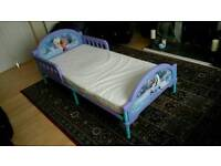 Kids Disney Bed With Mattress New Condition
