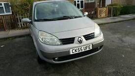 Renault grand scenic 7 seater 1.6