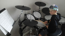 DRUM LESSONS - DRUM KIT TUITION - LEARN DRUMS