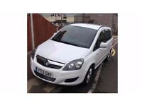 Needed gone ASAP Vauxhall Zafira low mileage 45k