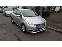 2012 Peugeot 208 1.4 e-hdi semi-auto/manual stop/start only 10k miles dual control instructor car.