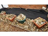 Free garden stones