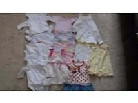 Bundle Of Baby Girl Clothes 0-3 Months. Next, Zara, Mothercare,Gegrge