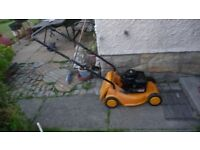 **McCulloch Petrol Lawnmower**, Working B&S Reliable Engine**