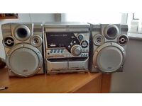 JVC Stereo System - little used in good condition