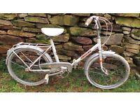 Vintage Retro French Mercier Folding Bike Bicycle Cycle Vtg