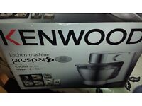 AS NEW KENWOOD PROSPERO KM283 MIXER FOOD PROCESSOR BLENDER AND CITRUS PRESS