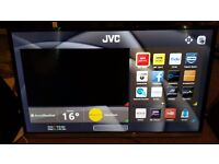 "JVC LT-40C755 Smart 40"" LED TV with Built-in DVD Player Full HD 1080p"