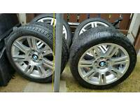 BMW MSPORT 17INCH ALLOYS