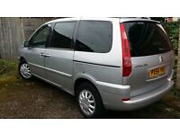 Citroen C8 2004 Diesel, 7 Seater, All Electric, with MOT QUICK SELL