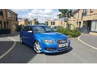 2007 Audi s3 Quattro sprint blue hpi clear full service history very clean example fullyloaded