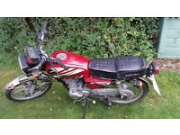 Red Sukida 125cc spares and repairs or project